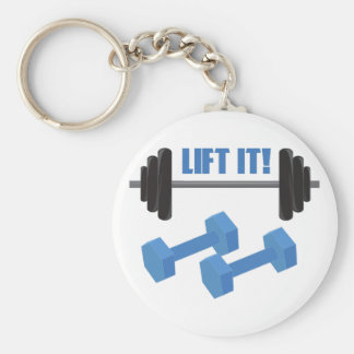 Lift It! Key Chain