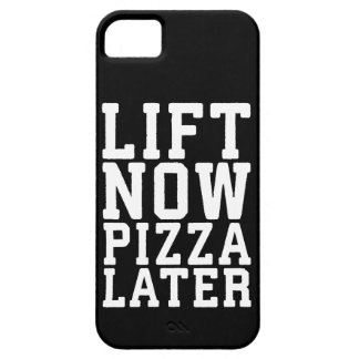 Lift Now, Pizza Later - Funny Novelty Gym iPhone 5 Cover