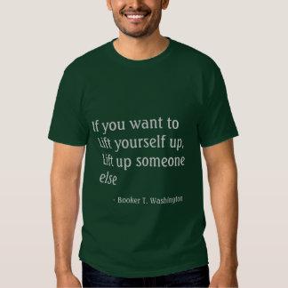 Lift Up Someone Else Caregiver Slogan Tshirt