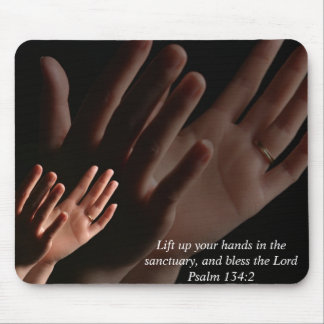 Lift Up Your Hands Mouse Pad
