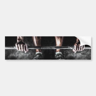 Lift Weights Bumper Sticker