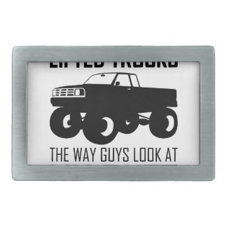 Lifted Trucks Belt Buckle