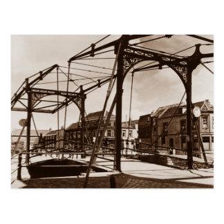 Lifting bridge, Amsterdam Postcards
