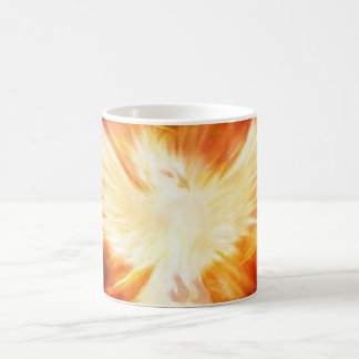 Lifting from the fire..... basic white mug