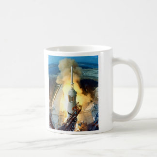 Liftoff of the Apollo 11 Saturn V Space Vehicle Coffee Mug