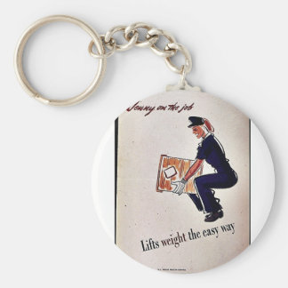 Lifts Weight The Easy Way Key Chains