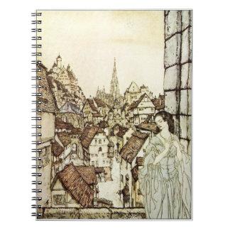 Ligeia by Arthur Rackham Notebooks