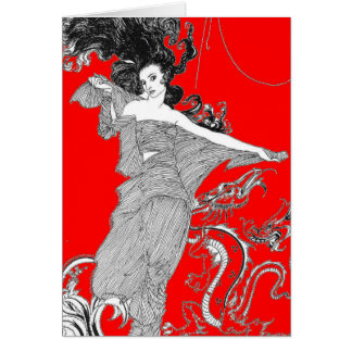 Ligeia by Poe Card
