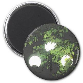 light 6 cm round magnet