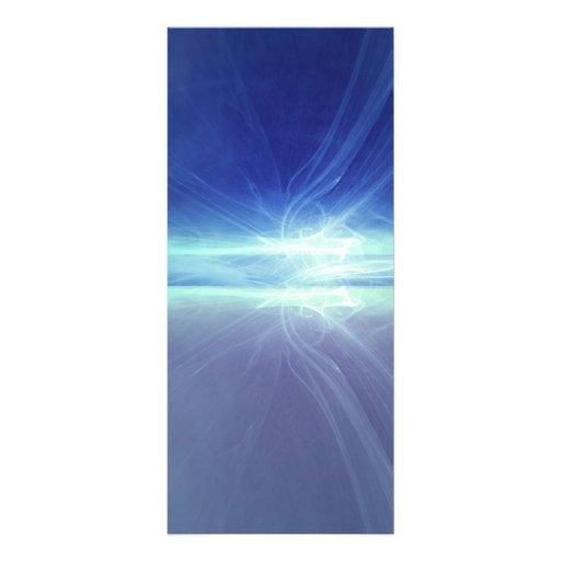 Light Abstract Custom Rack Card