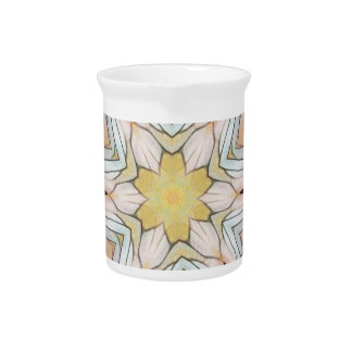 Light Airy Artistic Uncommon Pattern Drink Pitchers