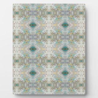 Light Airy pastel  patterns Plaque