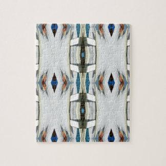 Light Airy Southwest Tribal Pattern Jigsaw Puzzle