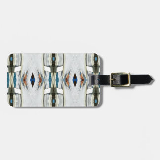 Light Airy Southwest Tribal Pattern Luggage Tag