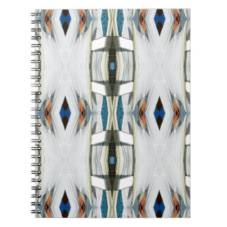 Light Airy Southwest Tribal Pattern Spiral Notebook
