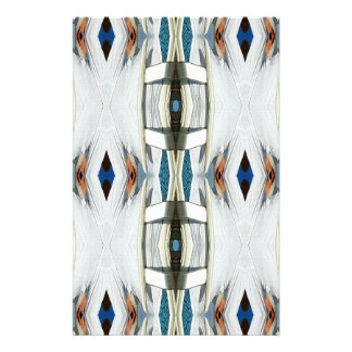 Light Airy Southwest Tribal Pattern Stationery