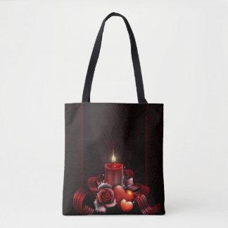 Light All-Over-Print Tote Bag, Medium