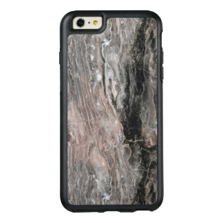 Light And Dark Gray And Black Marble Stone OtterBox iPhone 6/6s Plus Case