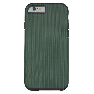 Light and dark green stripes wallpaper, 1895-1910 tough iPhone 6 case