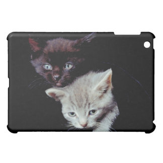 Light and Dark Kittens Case For The iPad Mini