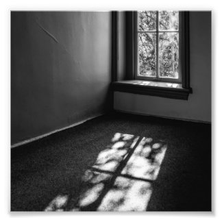 Light and Shadow Photo Print