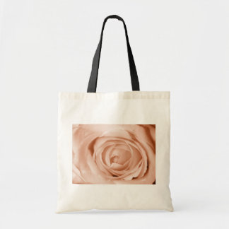 Light Apricot Save the Date Budget Tote Bag