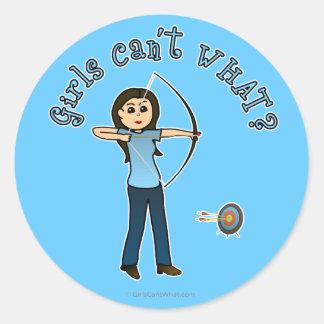 Light Archery in Blue Stickers