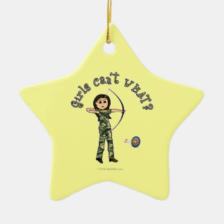 Light Archery in Camouflage Christmas Tree Ornament