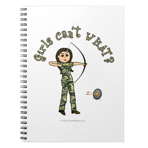 Light Archery in Camouflage Note Book