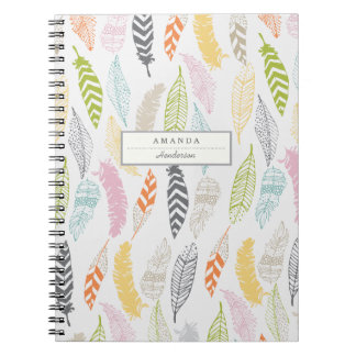 Light as a Feather by Origami Prints Notebook