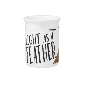 Light As Feather Pitcher