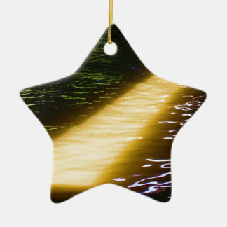 Light at end of the Tunnel: Sunlight Spectrum Ceramic Star Decoration