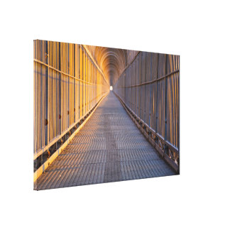LIGHT AT THE END 60 X 40 CANVAS PRINT
