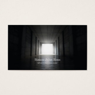 Light At The End Of The Sports Tunnel Business Card