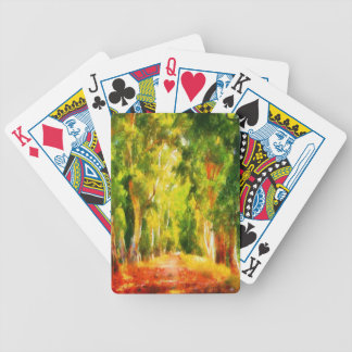 Light At The End Of The Tunnel Bicycle Playing Cards