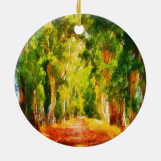 Light At The End Of The Tunnel Ceramic Ornament