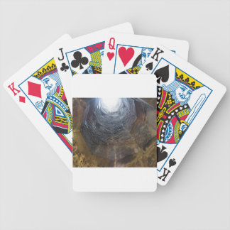 Light at the end of the tunnel . Hope concept Bicycle Playing Cards
