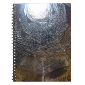 Light at the end of the tunnel . Hope concept Notebooks