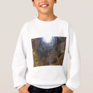 Light at the end of the tunnel . Hope concept Sweatshirt