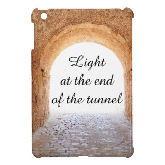 Light at the end of the tunnel iPad mini cover