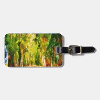 Light At The End Of The Tunnel Luggage Tag