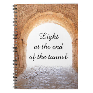 Light at the end of the tunnel notebooks