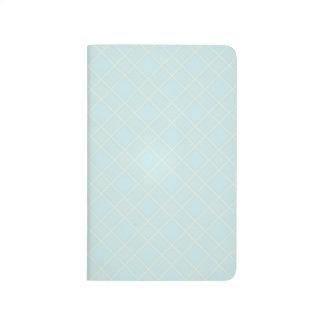 Light Baby Blue Plaid Journals