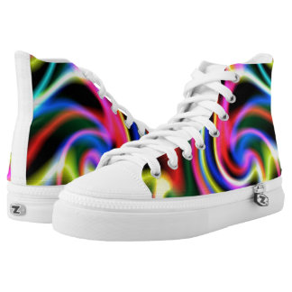 Light Beams Shoes Printed Shoes