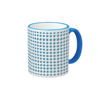 Light Blue 3 Side Boxes Ringer Mug