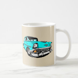 Light Blue '56 Shoebox Coffee Mug