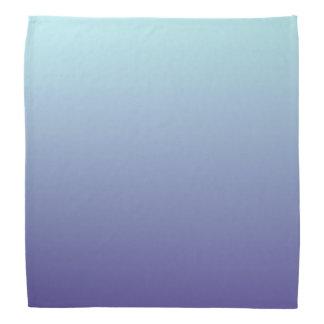 Light Blue and Purple Gradient Colors Head Kerchiefs