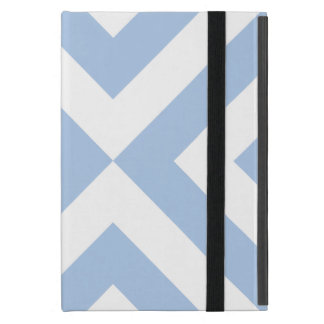 Light Blue and White Chevrons Covers For iPad Mini