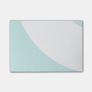 Light Blue and White Post-it Notes