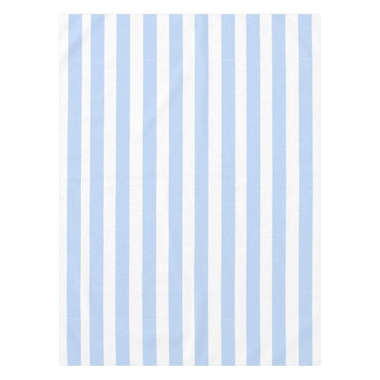 Light Blue and White Stripes Pattern Tablecloth | Zazzle ... Blue And White Stripe Pattern